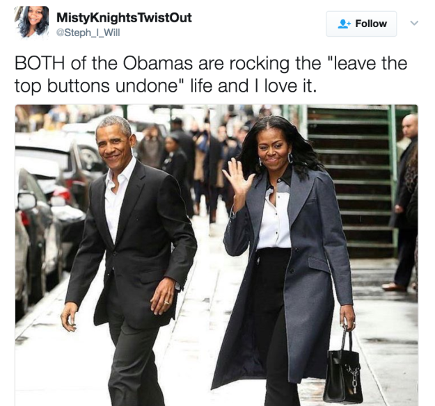 歐巴馬夫婦退休被拍到回紐約「退休生活超爽」!容光煥發還跟跟巨星聚餐「全美太羨慕」!