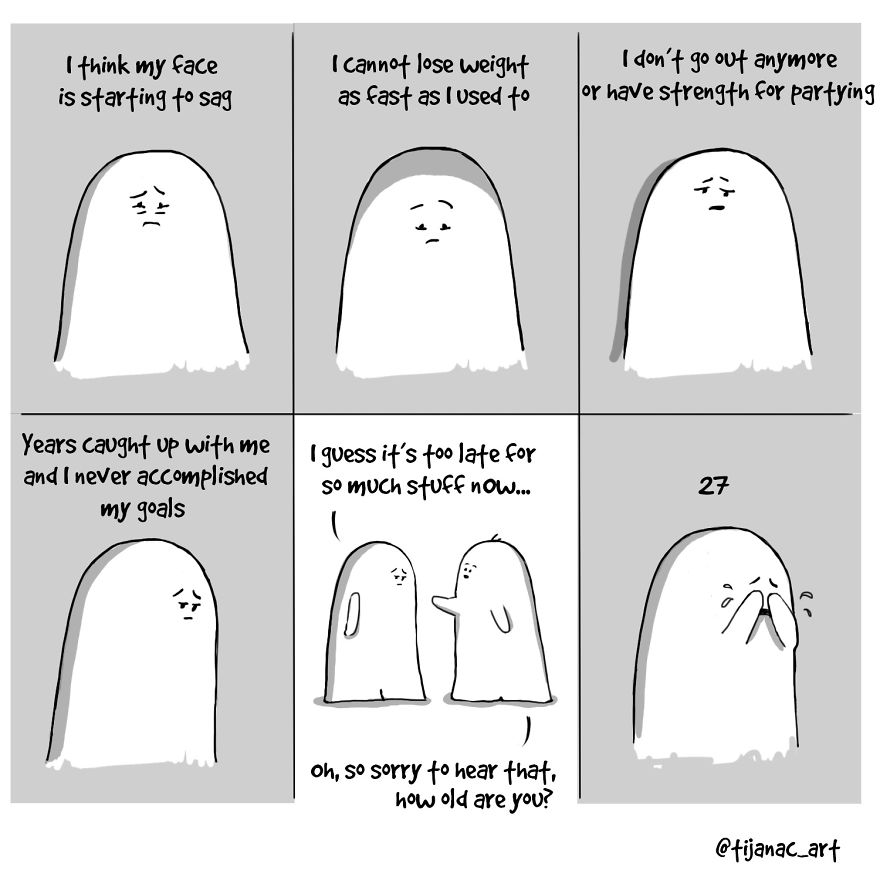 18張讓你點頭點到斷掉的「道盡日常生活困擾」可愛趣味漫畫。#18你終於得到快樂的方法!