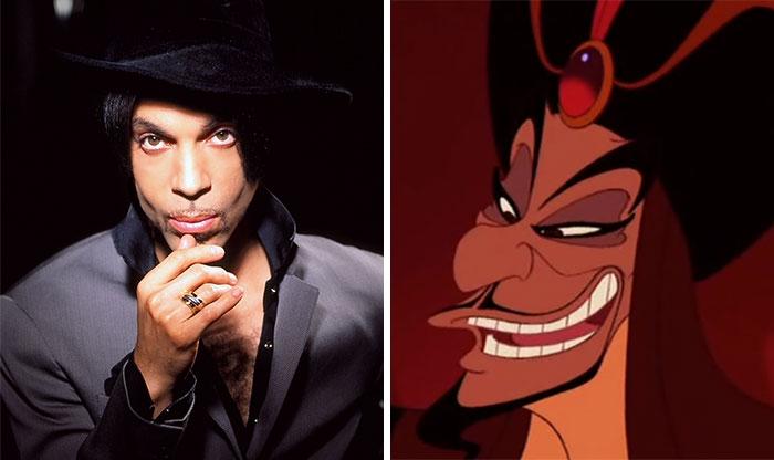 Prince Looks Like Jafar From Aladdin
