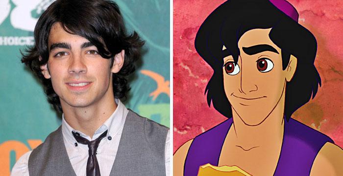 Joe Jonas Looks Like Aladdin