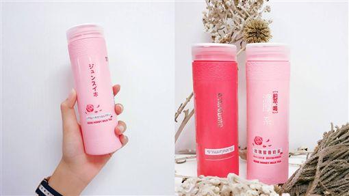 新版粉紅色亮麗「玫瑰奶茶」被搶光、IG洗版,員工不爽:「上面才寫幾個字就跟風成這樣」
