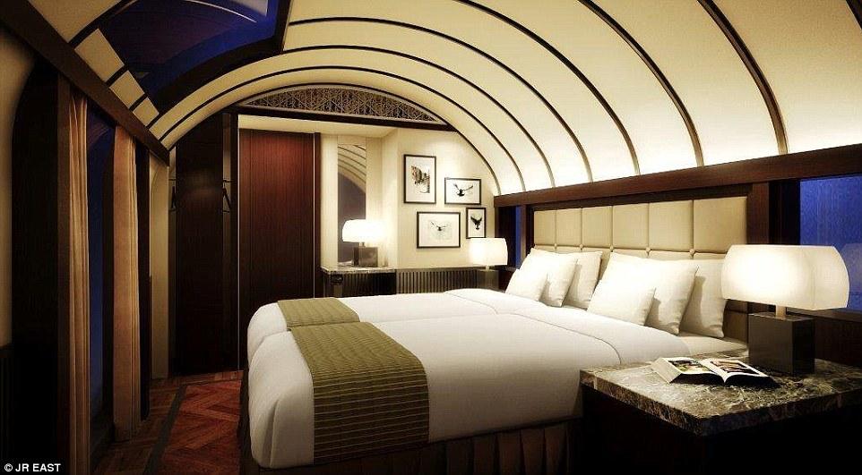 法拉利設計出的「最高級臥鋪列車」一趟要52萬!最頂級樓中樓尊爵客房還「不能只搭車」!(14張)