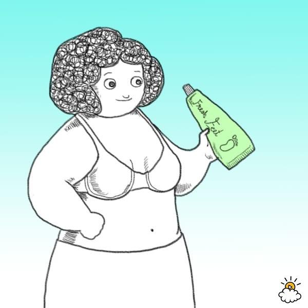胸部底下出汗正常嗎?9種幫妳「徹底擺脫胸部出汗」的超簡單妙招!