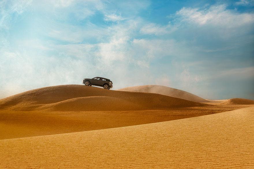 神級攝影師收500萬只用1200元「玩具車」幫奧迪拍出「超震撼」照! (8張照片+影片)