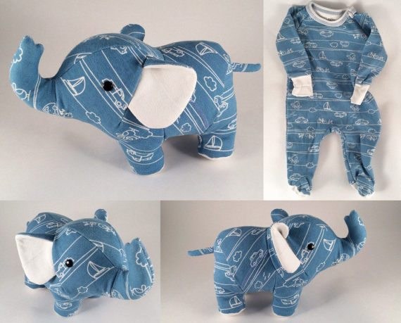 嬰兒衣服要怎麼處理?設計師改造成「回憶泰迪熊」讓你能夠一生保留最珍貴回憶!