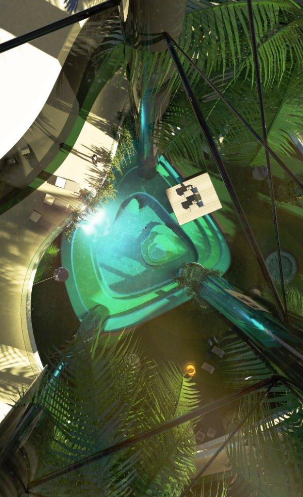 「移動渡假小島」配備超狂一次加油1500萬,底下邪惡設施讓網友驚呼「007快去調查」! (17張圖)