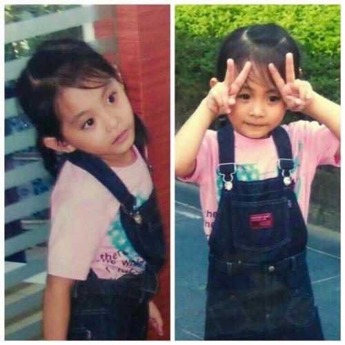 女神周子瑜小學的照片曝光,從小那對「萌鹿眼」可愛惹人愛!