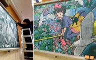 9張日本老師親手畫給學生的「道別」黑板藝術作品,#1《你的名字》美到哭!