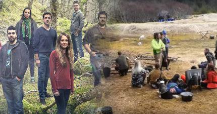 「荒野生存實境秀」參賽者挑戰與世隔絕原始生活,死命撐了一年後被告知:「一年前節目早就取消了。」