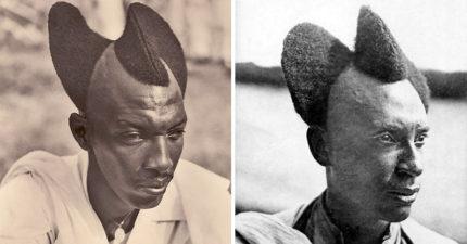 10張只有單身男女才能剪的「非洲百年前超炫傳統髮型」 夠時尚才可以吸引對象!