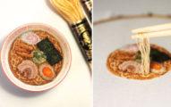 18個逼真到你會忍不住咬一口的「美味手工刺繡作品」,#2壽司捲太犯規了!