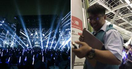 五月天高雄演唱會完美落幕,高捷人員忙散場「超暖心服務」讓中國鐵粉嚇壞了!