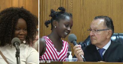 男法官原本要開罰婦人「違規停車3000元」,一聽到看到她女兒立刻改變主意!(影片)