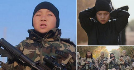 ISIS首次威脅攻擊中國揚言「殺到血流成河」!影片驚見「中國兒童聖戰士」嗆完轉身狠割喉!(影片)