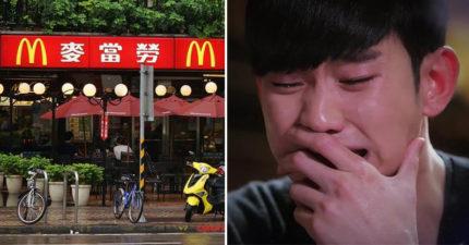 他「打死不吃麥當勞」卻被朋友硬拖進去秒暴哭!罹患「麥當勞恐懼症」背後原因洋蔥到爆…