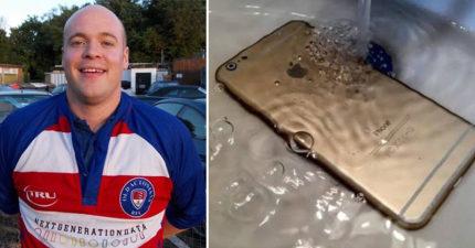 32歲男浴缸內「邊泡澡邊玩iPhone」慘遭電死!專家警告:「不是手機的問題!」