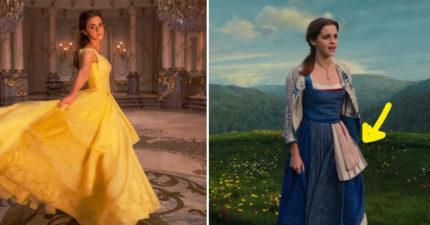 《美女與野獸》艾瑪華森「裙子浪漫到不行的秘密」大公開!看之前不知道這些細節就虧大了!(影片)