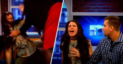 女子讓節目為男友「測謊」看有沒有劈腿,問到「有沒有跟我媽媽睡」大崩潰!