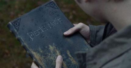終於推出美版真人版《死亡筆記本》預告片!0:46死神路克感覺會比日版帥多了!
