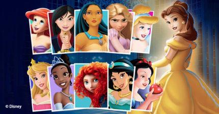 不要想!馬上「選出最喜歡的迪士尼公主」,準確測出潛意識最大優缺點!