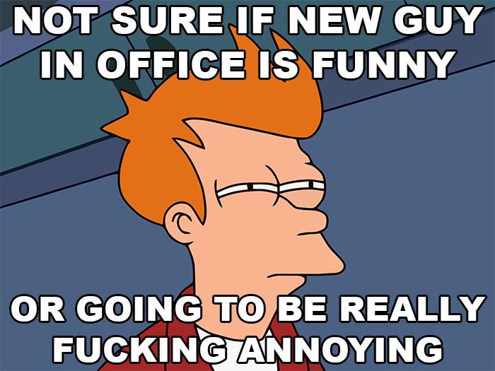 30張絕對不要在上班時看的「中肯上班爆笑OS」看了會哭! #5當老闆忽然出現在你後面時...