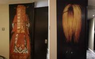他在英國旅館看到牆上的「裝潢」嚇到無法入眠!#3韓國女子轉身會超恐怖!