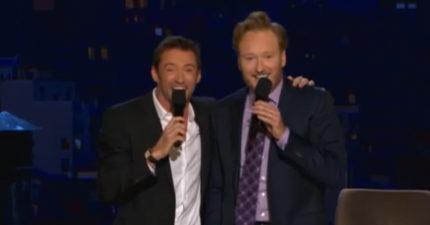 休傑克曼6年前在節目上唱「中文歌」最不想讓你看到的片段!「娃一昏肛射你」網友笑翻!