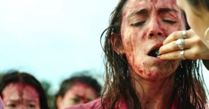 噁心到電影院必須「發嘔吐袋」!「吃素女子轉吃人肉」太驚悚! (影片)