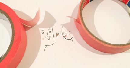 11張藝術家把影子「說服」成最可愛畫面的驚奇影子插畫!