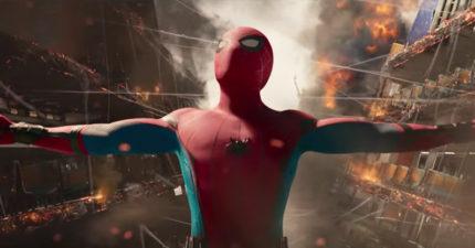 《蜘蛛人:返校日》最新中文預告,1:19經典犧牲畫面重現「鋼鐵人要收回他的蜘蛛衣」!