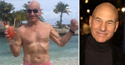 76歲派崔克·史都華超越凍齡「肌肉超級結實」根本不科學!他透露「每天只做這個動作」超輕鬆!