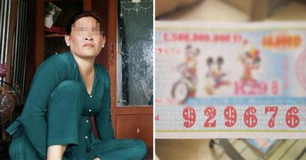 越南女子「彩卷中頭獎」霸氣與親朋好友好友狂歡2天,領前時才發現悲慘真相...