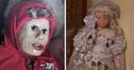 他們在這個人家裡發現了超多的洋娃娃,但「這些不是洋娃娃」驚悚真相「全世界都嚇到了」...
