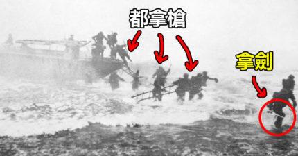 超猛二戰士兵堅持「只帶弓箭+刀劍上戰場」幹掉超多德軍!被包圍時「拿出樂器」逃過一劫!