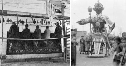 美攝影師死後被發現「藏在鞋盒裡」充滿歷史感的中國老照片,轟動了全世界!(36張)