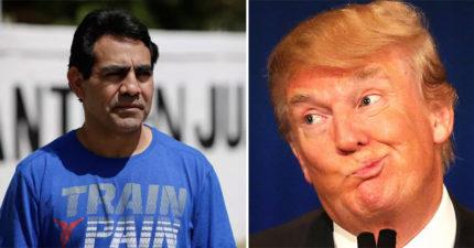 夫妻支持川普當時還投票給他,接著墨西哥丈夫就被踢出美國了。妻:他說不遣返好人啊!