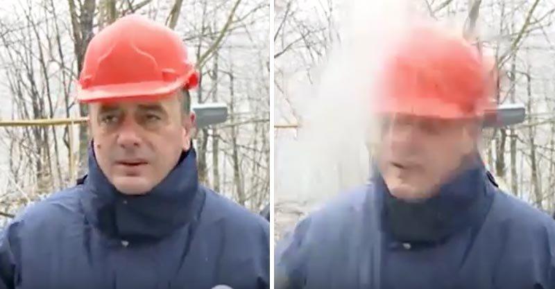 這就是為什麼在工地一定要「戴安全帽」,0:28這刻讓你永遠記得!