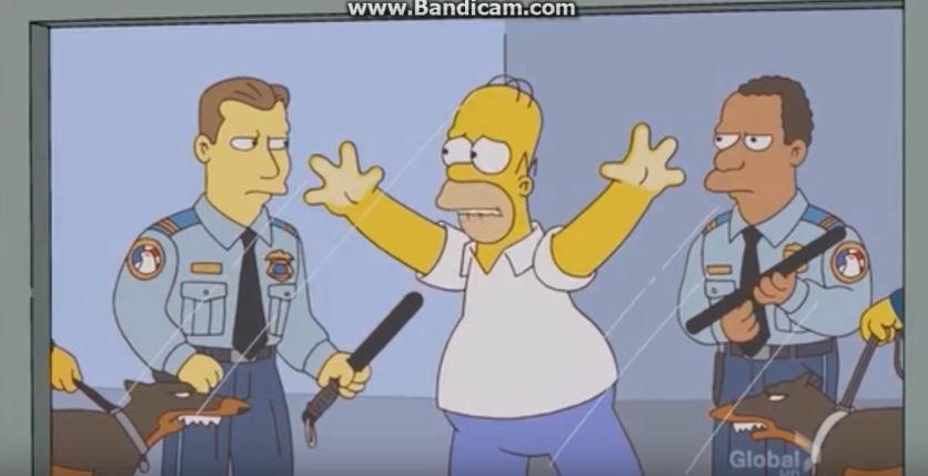 神預言再現!《辛普森家庭》早就預告「聯航暴力拖客事件」,證明「黃種人」就是問題所在!