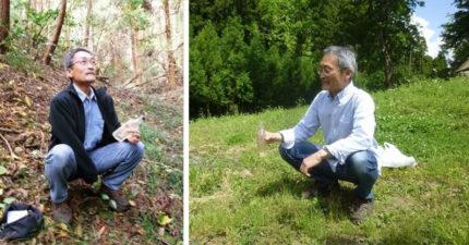 「拉野屎博士」日本阿伯43年來堅持野外大便,他:「猴子、蜜蜂都恐怖但人類更恐怖!」