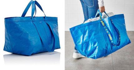 這款IKEA環保購物袋「要價7萬元」?!全網笑壞「相似度87%」這個品牌連也GD超愛!