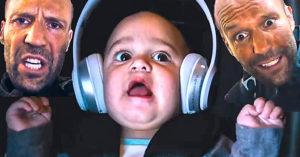 《玩命關頭8》原本戴克蕭「營救寶寶」的橋段更精采,但因為「太帥」被砍掉了!