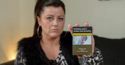 她在香菸包裝上發現「爸爸恐佈死狀」被嚇壞!仔細比對後發現「超可惡犯罪真相」!