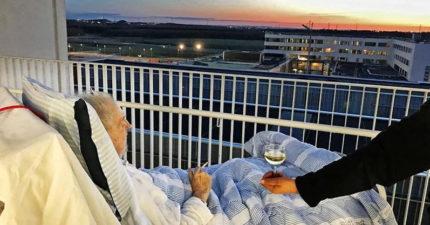 75歲垂死老翁只能多活幾天,護士違犯醫院規定讓他「實現死前最後心願」。