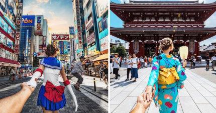 爆紅牽手夫妻「最新日本美照」曝光!美少女戰士服超吸睛但「幕後花絮」更是美到太超過!(8張)