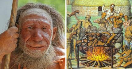 人類祖先為什麼吃人肉?考古學家:「不是為了填飽肚子...」。人體卡路里最高部位是...