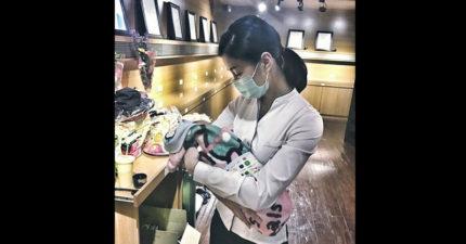 「這是我遇到最小的家屬。」她用一命換來雙胞胎女兒,美女禮儀師PO洋蔥文網飆淚。