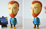 可愛的「梵谷模型娃娃」當左耳掉下來時,會讓愛藝術的朋友們尖叫!
