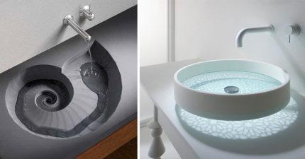 23個會讓你想把家裡水槽打爆的「生活大升級超美水槽」。