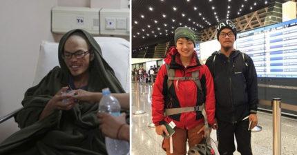 梁聖岳山難撐47天存活「不是奇蹟」,登山專家表示「那叫專業」勸大家別太無知。
