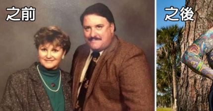忍了20年的乖乖牌阿嬤,丈夫一死她解放成「世界刺青美姬」